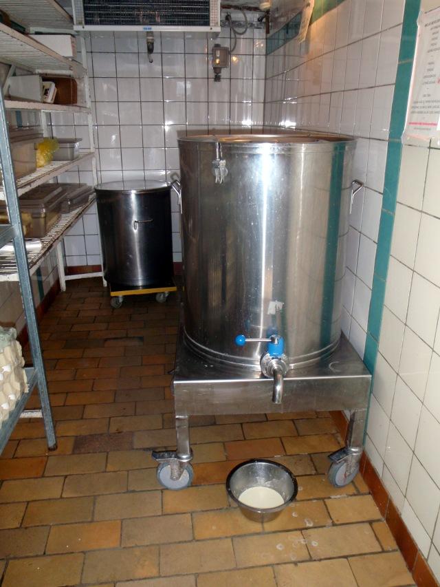 The dairy refrigerator