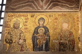Comnenus_mosaics_Hagia_Sophia