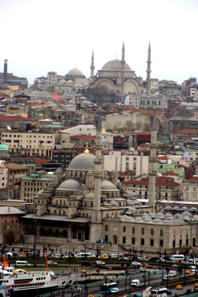 The New Mosque and Süleymaniye Mosque