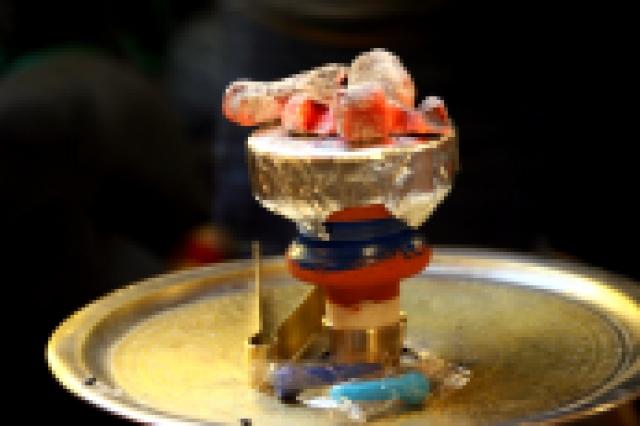 Hot coals for the hookah