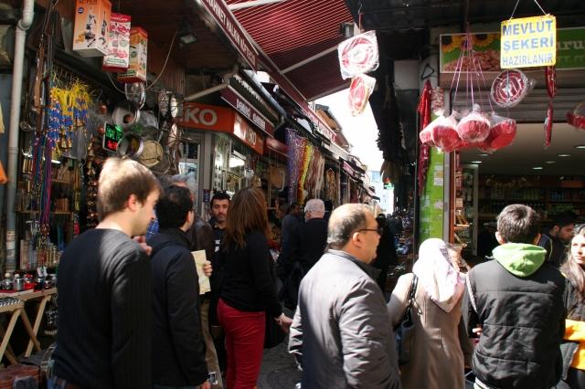 Bazaar outside Rüstem Paşa Mosque