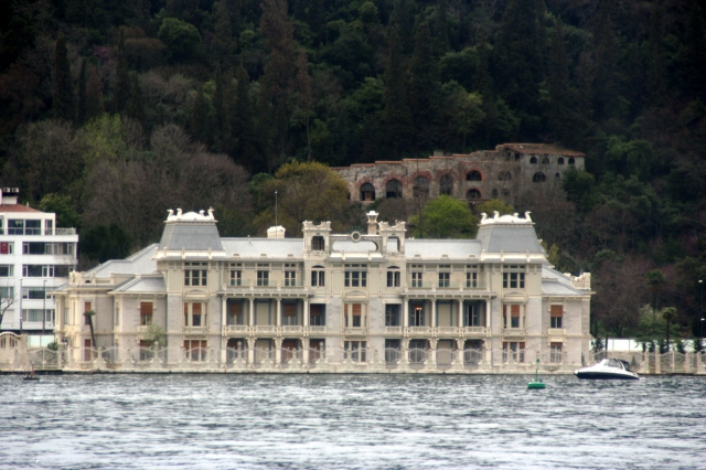 Bosphorus palace, now a hotel