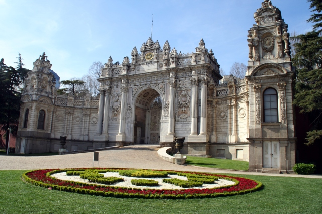 Dolmabahçe Palace:   Imperial Gate