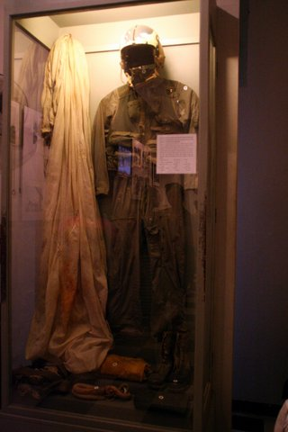 "John McCain's gear at the ""Hanoi Hilton"""